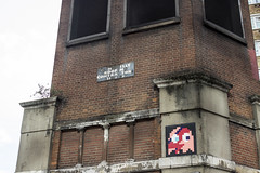 Space Invader, City Road, London (IFM Photographic) Tags: streetart london canon grafitti ghost spaceinvader pacman invader usm islington ef ef2470mmf28lusm davidbowie londonboroughofislington lseries 2470mm ziggystardust f28l 600d img7993a