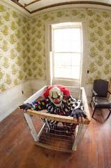 DSC_0121 (Michael P Bartlett) Tags: scary evil fisheye clowns evilclowns