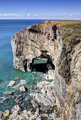 Dream on (pauldunn52) Tags: castle wales rocks arch martin stack east range pembrokeshire