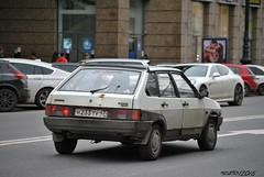 Lada 2109 Samara (Helvetics_VS) Tags: oldcars lada samara 2109