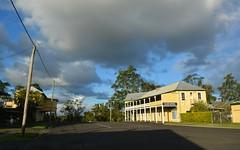 Coraki (dustaway) Tags: autumn sky buildings australia nsw streetscape cloudscape afternoonlight northernrivers australiantowns coraki richmondvalley