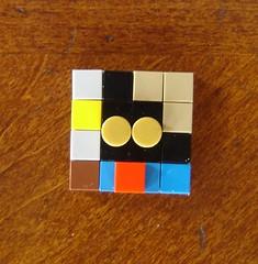 Minicon Vivi Mosaic (ChocoBricks Customs) Tags: lego custom vivi ff9 ffix finalfantasyix