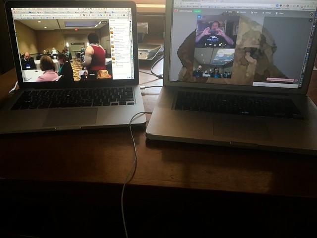 Double Laptop Vconnecting Setup