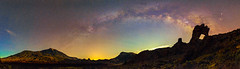Teide-Guajara-Zapatilla De La Reina-Via Lactea (Jaime E.) Tags: