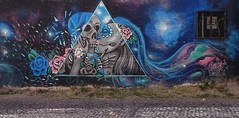 Mr Skelleton (BE'N 59) Tags: en streetart blanco sanmigueldeallende mexique muros