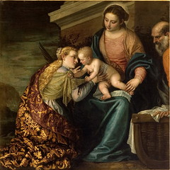 The Mystic Marriage of Saint Catherine (lluisribesmateu1969) Tags: saint montpellier 16thcentury veronese musefabre