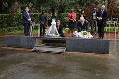 Angelina Jolie & William Hague visit the Kigali Genocide Memorial (Kigali Genocide Memorial - Urwibutso) Tags: kigali rwanda angelinajolie jolie williamhague kigaligenocidememorial rwandagenocide kwibuka genocideagainstthetutsi gisozimemorial