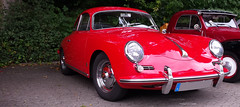 - 1960  Porsche  356 B T 5 - (Jac Hardyy) Tags: auto old b red rot eye classic cars sports beautiful car design model antique exotic porsche designs oldtimer t5 autos catcher luxury luxus sportscar eyecatcher 1960 356 356b sportwagen