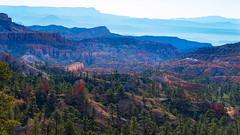 a Bryce Canyon morning landscape (r a y  b r o w n) Tags: mountains landscape canyon bryce brycecanyon brycecanyonnationalpark