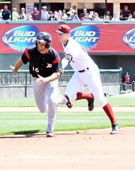 Myles Schroder and Erich Weiss (docjeffhyde) Tags: baseball pirates sanfranciscogiants pittsburghpirates altoonacurve milb richmondflyingsquirrels