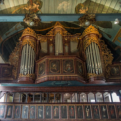 Orgel der Kirche in Borstel (RaiLui) Tags: square de deutschland kirche 11 orgel quadratisch altesland niedersachsen jork