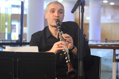Luca Luciano (2016) 03 (KM's Live Music shots) Tags: italy jazz clarinet southbankcentre fridaylunch westernclassicalmusic lucaluciano