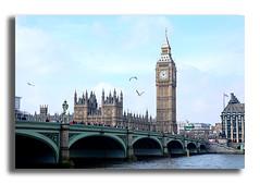(Luca Castillo) Tags: uk bridge london tower clock birds puente big heaven torre ben bigben pajaros cielo londres reloj