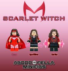 Scarlet Witch [VARIANTS] (agoodfella minifigs) Tags: comics mod lego civilwar marvel mcu marvelcomics avengers minifigure moc scarletwitch minifigures marvelheroes wandamaximoff legosuperheroes legomarvel teamcap legomarvelsuperheroes legoavengers marvellego ageofultron