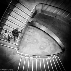 Going up. (Evansie) Tags: street london st spiral pauls staircase