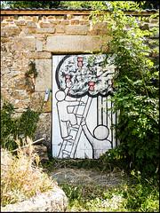 20130719-975 (sulamith.sallmann) Tags: streetart france art frankreich europa kunst normandie manche fra kunstwerk kunstimffentlichenraum lahague bassenormandie dielette sulamithsallmann