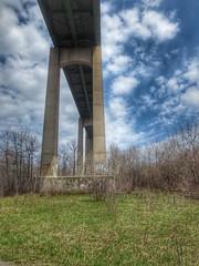 Under the bridge (robertbr1) Tags: bridge saultstemarie
