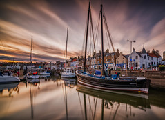 The Reaper (blairmchattiephotography) Tags: sunset clouds scotland nikon long exposure reaper harbour fife scottish east anstruther neuk d7000