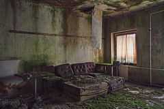 Comfort Zone (Julicious Photography) Tags: abandoned vintage hotel decay interior neglected ruin livingroom ruine forgotten urbanexploration melancholy rotten grime filthy desolate derelict wohnzimmer urbex verfall marode leerstand lostplace 5dmarkii