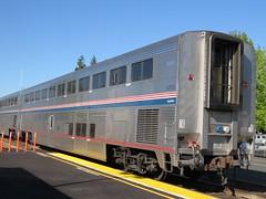 Amtrak 34100 Superliner Coach (zargoman) Tags: seattle railroad travel chicago cars car train rail amtrak transportation transit passenger edmonds snohomish empirebuilder superliner
