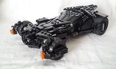 [UPDATE] Batman V Superman Batmobile (I P R I M E I) Tags: lego batman custom batmobile moc dawnofjustice batfleck batmanvsuperman