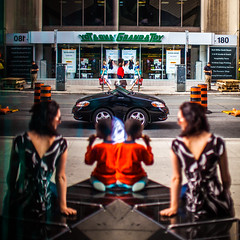 Two Sides of Toronto (Thomas Hawk) Tags: toronto ontario canada reflection