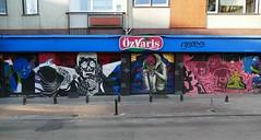 P1000716 ENTRANCE ON THE SIDE (omersad) Tags: urban streets grafitti wallart istanbul shutters stores panasoniclumix kadiky bahariye fz1000