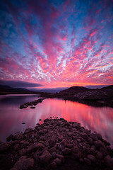 When the sunset bleed (Luis Prez Corts) Tags: chile sunset water clouds landscape atardecer agua outdoor paisaje cielo nubes airelibre regiondecoquimbo tokina1116mm sonya58