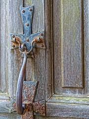 Tudor-era door latch at Knole House in Sevenoaks, Kent England (mharrsch) Tags: park england house castle architecture hardware kent estate realestate palace tudor mansion nationaltrust sackville sevenoaks doorlatch knolehouse countryestate mharrsch