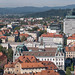 A view of the city from Citdel (8k 21:9) in Ljubljana, Slovenia with Panasonic DMC-GX7