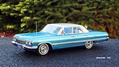 1963 Chevrolet Impala Hardtop Sport Sedan (JCarnutz) Tags: chevrolet impala 1963 143scale resincast sportsedan kessmodels