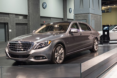 Mercedes Maybach (erikcoxphotography) Tags: auto show mercedes dc washington maybach s600 washingtonautoshow dcautoshow