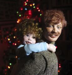 George and Annie. (Dazi May) Tags: male george doll dolls ooak kinder stories wildflower