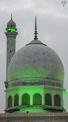 Hazratbal Shrine Srinagar. (daiyaan.db) Tags: shrine religion kashmir milad eidmilad