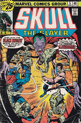 Skull, The Slayer 5 (micky the pixel) Tags: comics comic demon marvel salbuscema heft dmon skulltheslayer theblackknight jimscully thetoweroftime sonnytrinidad
