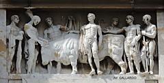 Montevideanos desnudos - Montevideo (Polycarpio) Tags: men naked uruguay ox montevideo estatua hombre sudamerica buey desnudo