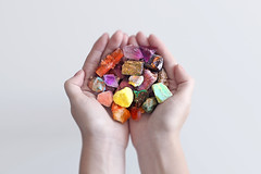 Gems and Minerals (Sander Copier) Tags: woman money nature girl rock stone female diamonds hands rocks crystal earth stones minerals planet value gems copier gemstones sander