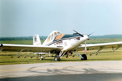 PH-WYE @ Lelystad 9 sept 1989 by J.Hetebrij (Hot Air) Tags: turbo rockwell ayres commander thrush phwye