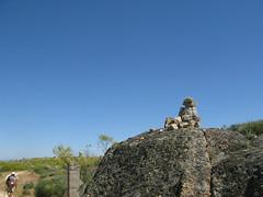 Ein Steinmnnlein (pilgerbilder) Tags: pilgern pilgerfahrt pilgertagebuch vadellaplata cceresalcntara