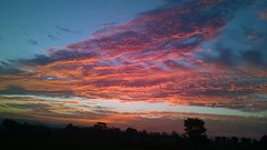 red sky (Khushi:-)) Tags: blue red sky nature colors clouds mix khushi