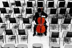 Cello (akintsy_photo) Tags: music color colour cello eton selective colorization