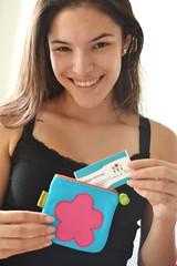 Minha sobrinha linda! (Canteiro de Ideias) Tags: bag handmade artesanato craft  estojo necessaire