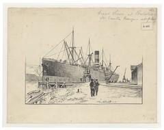 Loxton H693 (Bristol Libraries) Tags: uk bristol portishead ss grange liner everton