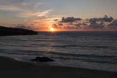 Sunset St Ives (JJCHansdad) Tags: beach st canon cornwall ives 70d