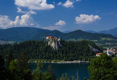 Lake Bled, Slovenia. (SheffieldRambler) Tags: slovenia bled
