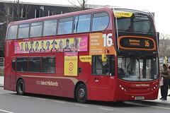 National Express West Midlands Alexander Dennis Enviro400 4802 (BX09 PDZ) (Perry Barr) 'Amy Louise' (john-s-91) Tags: birmingham route16 4802 alexanderdennisenviro400 nationalexpresswestmidlands bx09pdz comedycentral2016
