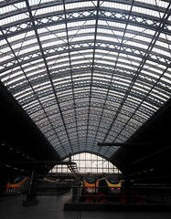 St Pancras International railway station (Camera Travels - Please read my Profile. Happy to ) Tags: london station st eurostar platform railway international pancras