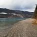 Lago Muncho e sua água azul cristalina