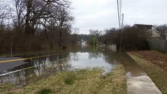 Fishpot Creek Flooded at Hanna Rd. in Valley Park, MO_20151230_122819 (Wampa-One) Tags: flooding flood sidewalk missouri roadclosed flooded 2015 hannard fishpotcreek valleyparkmo december2015 waterwhereitisnotsupposedtobe