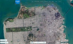 Track changes in Planet Labs' Open California (jurvetson) Tags: california from above san francisco open earth dove satellite labs planet imagery